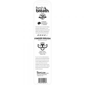 FRESH BREATH by TROPICLEAN Finger Brushes, 2 Pack