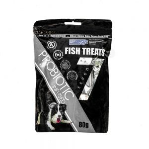 SEVEN Probiotic Infused Fish Treats, 80g