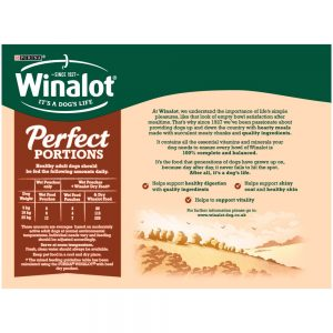 WINALOT Perfect Portions in Gravy Pouch Multipack, 12x100g