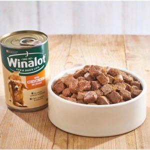 WINALOT Simple Selection in Jelly Can Multipack, 6x400g