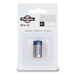 PETSAFE 6 Volt Alkaline Battery, RFA-18