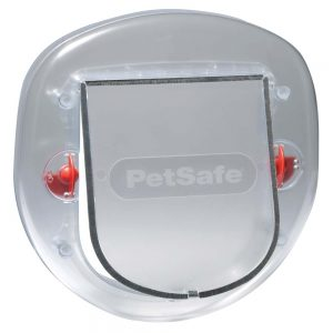PETSAFE 270 Big Cat Flap, Clear