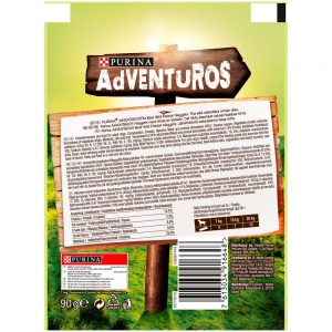 ADVENTUROS Boar Flavoured Nuggets, 90g