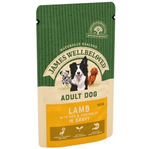JAMES WELLBELOVED Pouch Adult Lamb, 150g