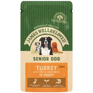 JAMES WELLBELOVED Pouch Senior Turkey, 150g