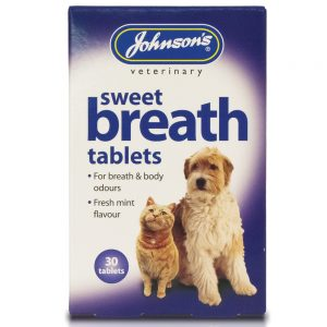 JOHNSON'S Sweet Breath Tablets, 30 Pack