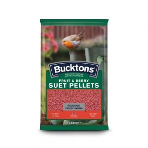 BUCKTONS, Suet Pellets Fruit & Berry, 12.55kg