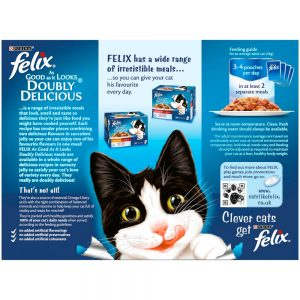 FELIX AGAIL Doubly Delicious Fish Selection in Jelly Pouch, 12x100g