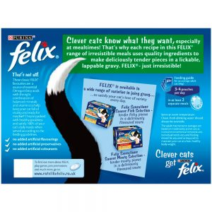 FELIX Mixed Selection in Gravy Pouch, 12x100g