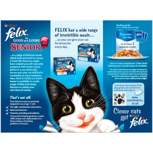 FELIX AGAIL Senior Selection in Jelly Pouch, 12x100g