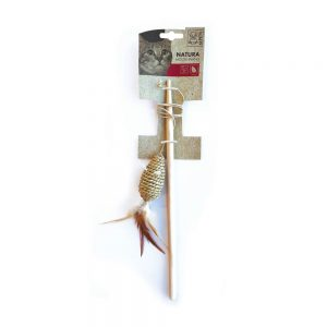 M-PETS Natura Seagrass Mouse Cat Wand
