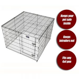 MIDWEST Wire Mesh Top for 36in Exercise Pen