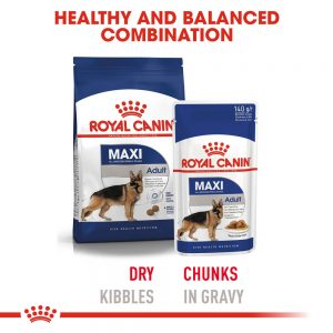 ROYAL CANIN Maxi Adult Gravy Pouch, 140g