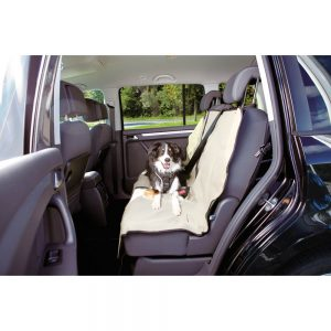 TRIXIE Front or Back Car Seat Cover, 140x120cm Beige