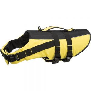 TRIXIE Life Vest for Dogs XS Yellow/Black, 28cm/up to, 12kg
