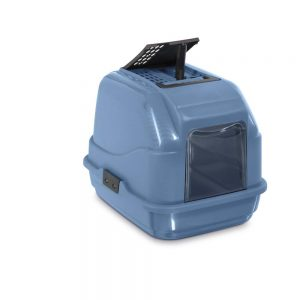 IMAC Easy Cat Toilet 2nd Life Plastic, Blue