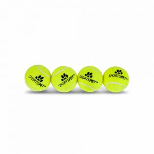 SPORTSPET Tennis Ball Mini, 4.8cm 4pk