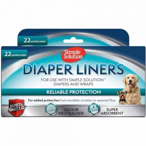 SIMPLE SOLUTION Diaper Liners Light Absorbancy 22's