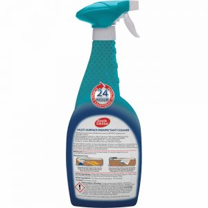 SIMPLE SOLUTION  Multi-Surface Disinfectant Cleaner, 750ml