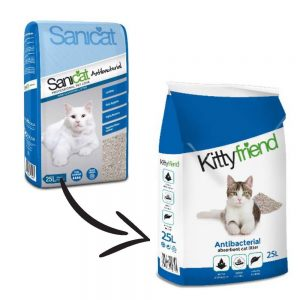 KITTYFRIEND Antibacterial Non-Clumping, 25-Litre
