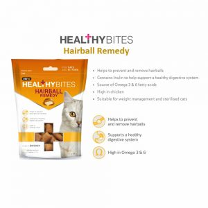 VetIQ Healthy Bites Hairball Remedy for Cats, 65g