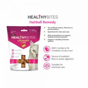 VetIQ Healthy Bites Urinary Care for Cats, 65g